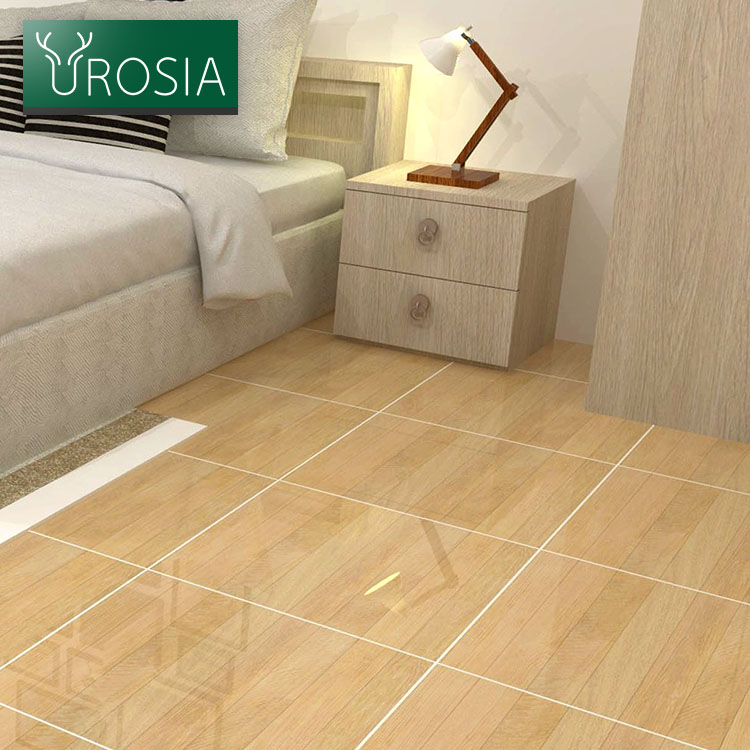 Sitting Room Glossy parquet wood floor tiles good price 450*900 wooden rustic finish porcelain ceramic floor tiles