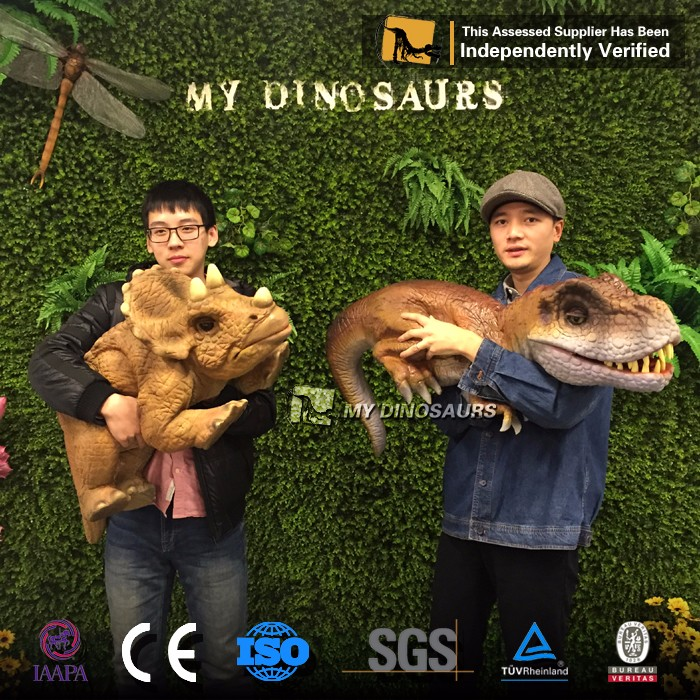 My Dino-D14-2 Animatronic Baby Dinosaur Hand Puppet For Sale