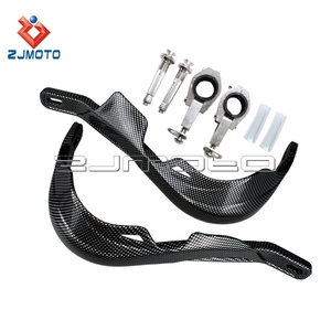 "Custom Carbon Supermoto Fiber Handguard Motocross Fiber Color Hand Guard Offroad Dirtbike 7/8""-1 1/8"" Hand Guard"