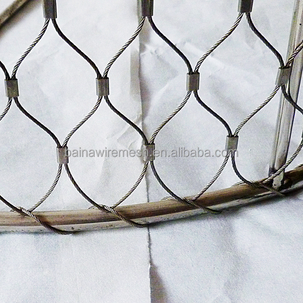 304 Satinless Steel Wire Rope Mesh Net For Architecture (made In ...