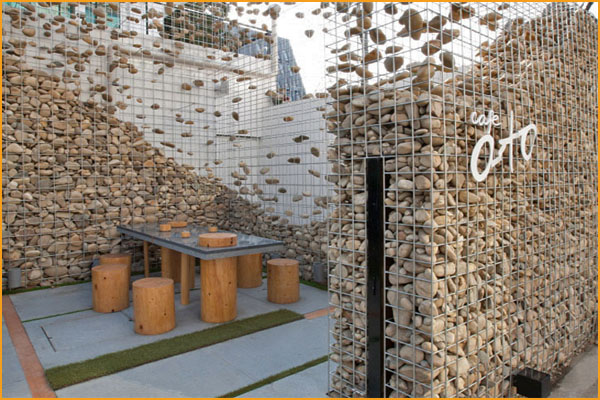 Gabion For Road Courtyard Decoration Gabion Wall Gabions