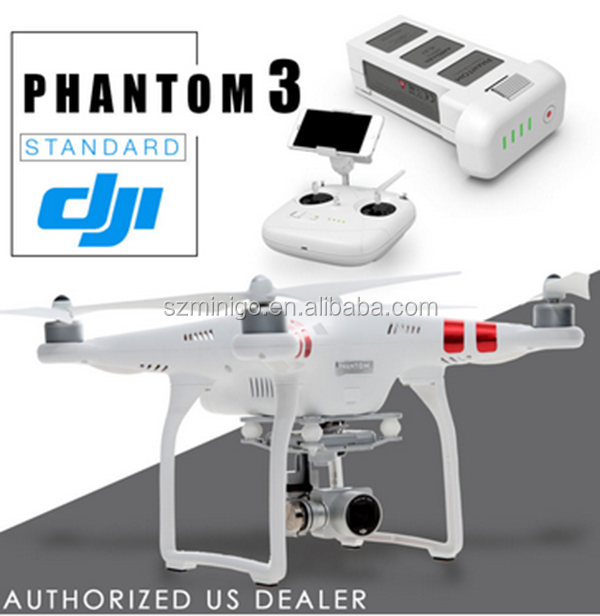 DJI Phantom 3 Standard W/ 2.7K Video 12MP Camera Quadcopter Drone with 3-Axis Gimbal