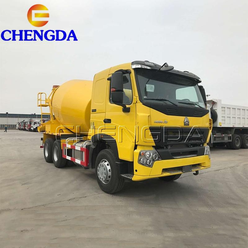 Sinotruk HOWO A7 10 metros cúbicos camión mezclador de concreto