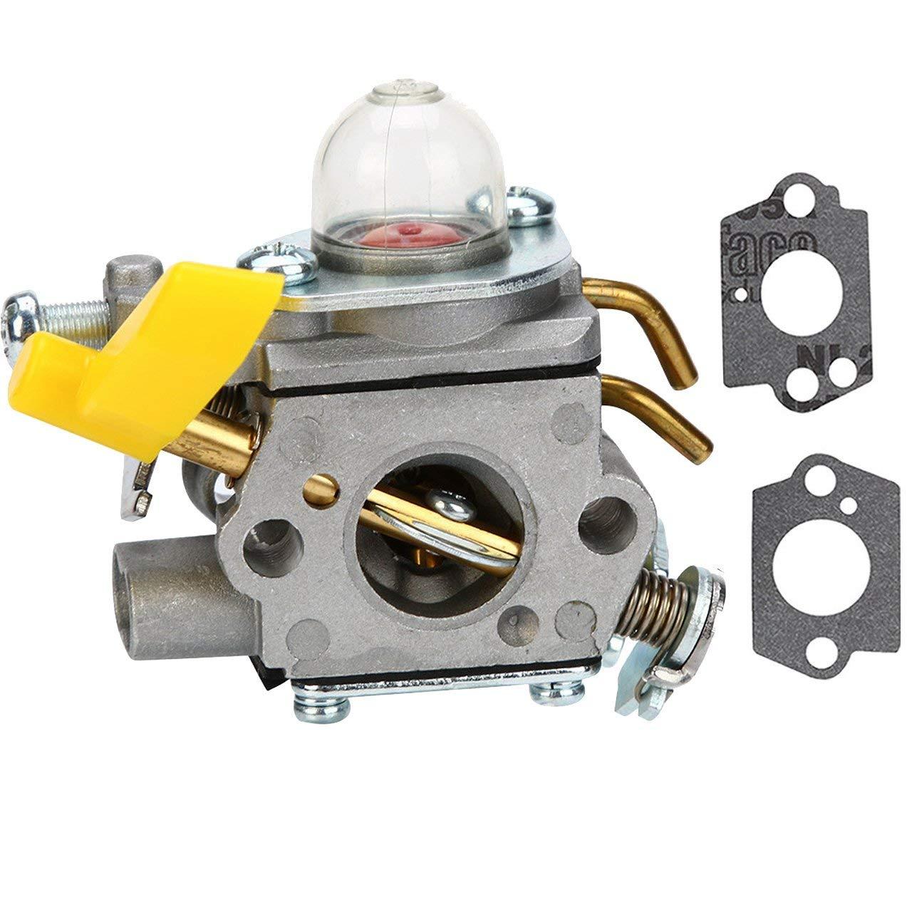 Get Quotations · FYIYI New C1U-H60 Carburetor for 25cc 26cc 30cc Ryobi  Homelite String Trimmer Brush Cutter