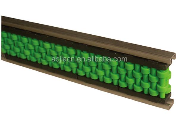 Plastic Flexible Conveyor Roller Guard Rails Roller Guide