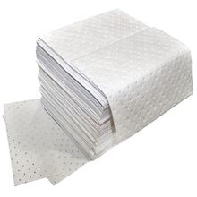 100% PP top quality White oil only absorbent pads for water cleaning treatment