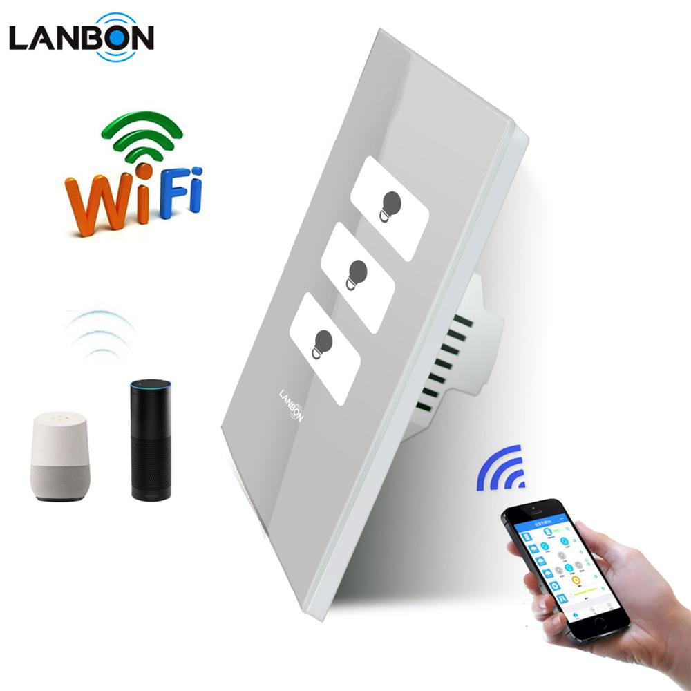 High Quality Factory Price WiFi Switch Smart Home IOT products electrical Smart light switch remote Google Home & Amazon Alexa