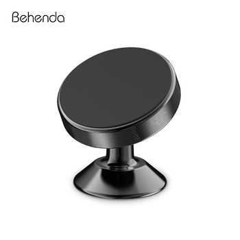Behenda Mobile Smartphone Stand 360 Magnet Car Phone Holder Magnetic Air Vent Mount