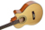 Low price 4 strings wooden electric  acoustic wooden wood bass guitar