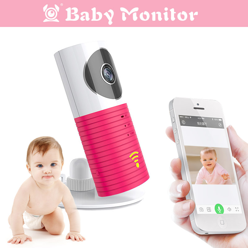 Security Smart WiFi IP Clever Dog Camera Baby Monitor With Night Vision Two-way Audio Motion Detection Support iOS Android