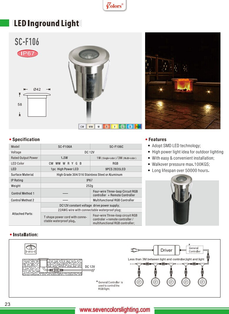 Small Stainless Steel Outdoor Rgb Led Light Inground Uplight Buy Power Controller Is The Extension Of Tiny To Drive