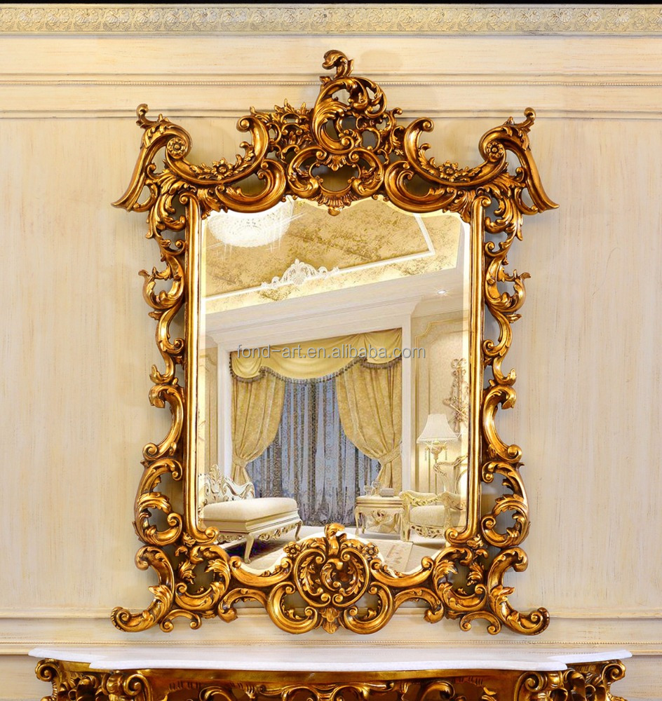 Baroque Wall Mirror, Baroque Wall Mirror Suppliers and Manufacturers ...