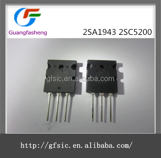 Best quality IC 2SA1943 2SC5200 with 100% new and original quality