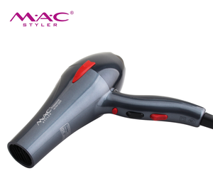 Lightweight body and anti-slip handle with textured design, comfortable to hold with ACmotor hair dryer