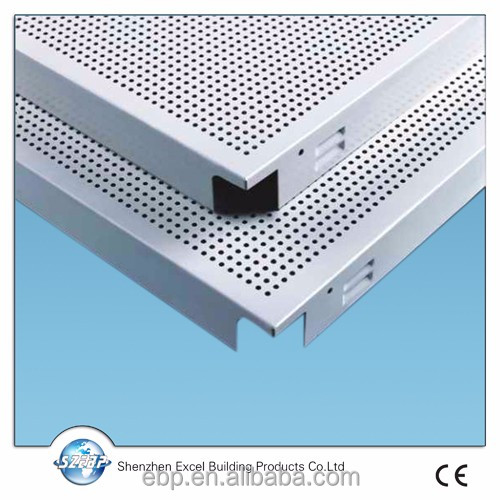 aluminum ceiling tiles clip in false ceiling panel metal spandrel