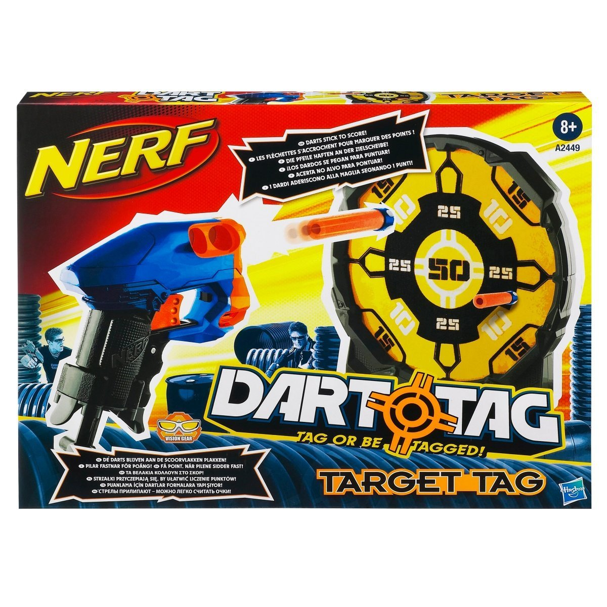 Get Quotations NERF DART TAG TARGET Set By Hasbro