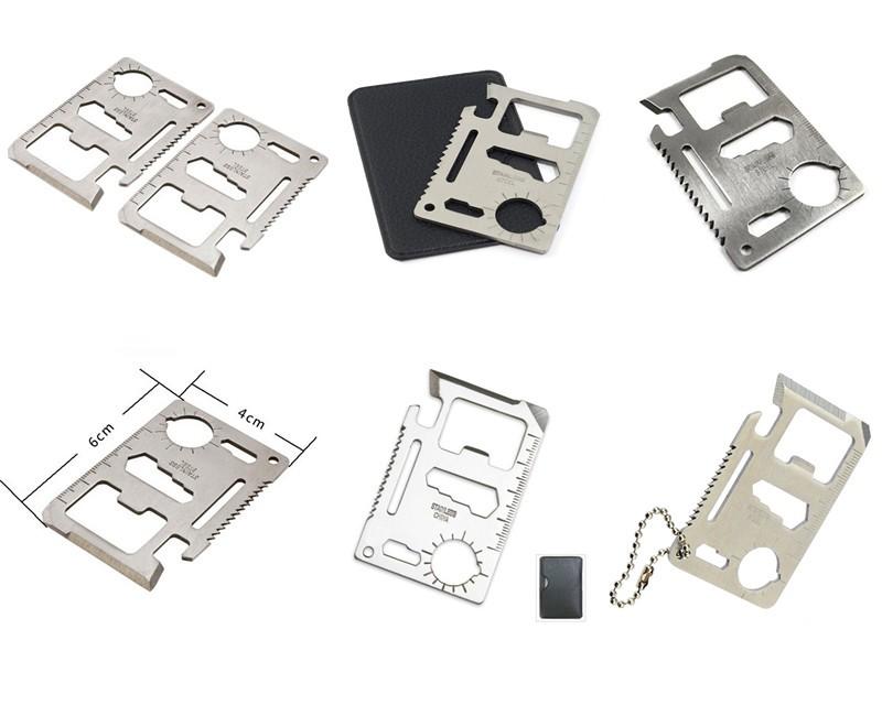 Metal Business Card Tool Multi Tool Card - Buy Credit Card Knife ...