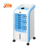 AC-168DLR-A Spot Cooling Small to Medium Spaces Water Air Cooler With Ice Pack Included Remote Control 4 Caster Wheels