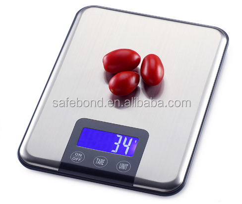 New Design Compact Digital Electric Kitchen Food Weighing Scale