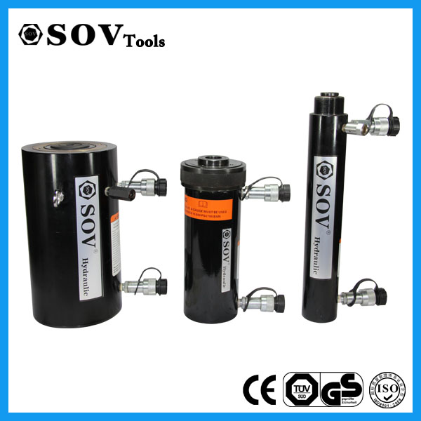 150ton double ended hydraulic cylinder with china supplier