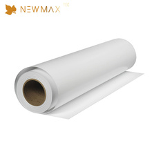 NEWMAX printable PVC coated blank sticker adhesive vinyl decorative paper roll