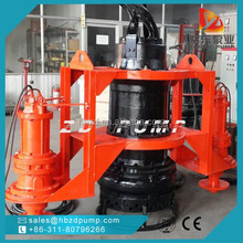 China hot sale centrifugal submersible slurry pump for sediment tailings