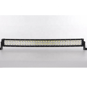 Guangzhou Auto Parts 33 inch Double Row Light Curved Bent LED Bar Offroad 180w LED Light Bar