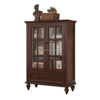 F40697A-1 Italian classic retro furniture nice looking wooden liquor display cabinet