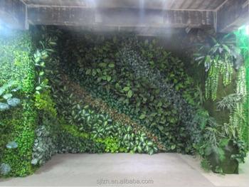 Faux Vert Mur Mur Végétal Jardin Vertical Mur À Vendre - Buy En ...