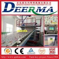 PVC marble machine PVC marble sheet machine PVC marble production line