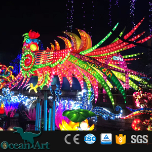 OABC 8127 Amusement parks outdoor and indoor bird lantern show