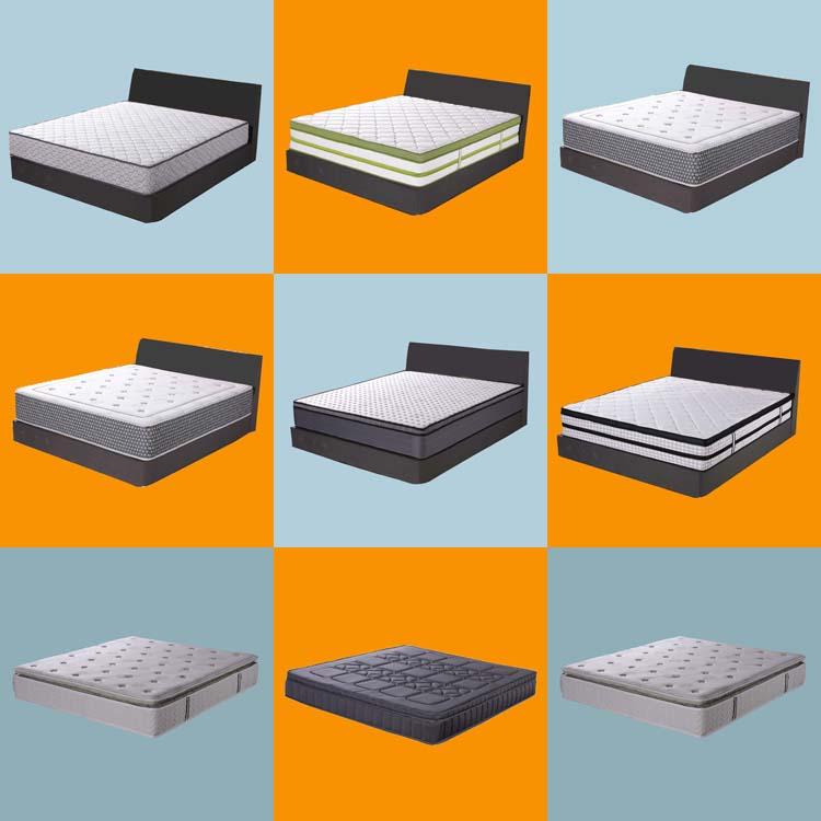 Cheap mattress price comfort rubberized coconut coir memory foam mattress - Jozy Mattress | Jozy.net