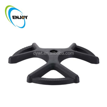 Heavy Duty Plastic Furniture Round Swivel Chair Parts