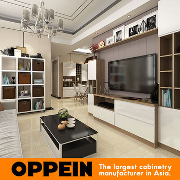 Guangzhou European style wood modern home furniture set