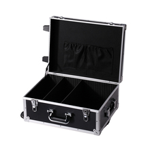 Rolling Reinforce wheeled aluminum car equipment trolley toolbox with tools