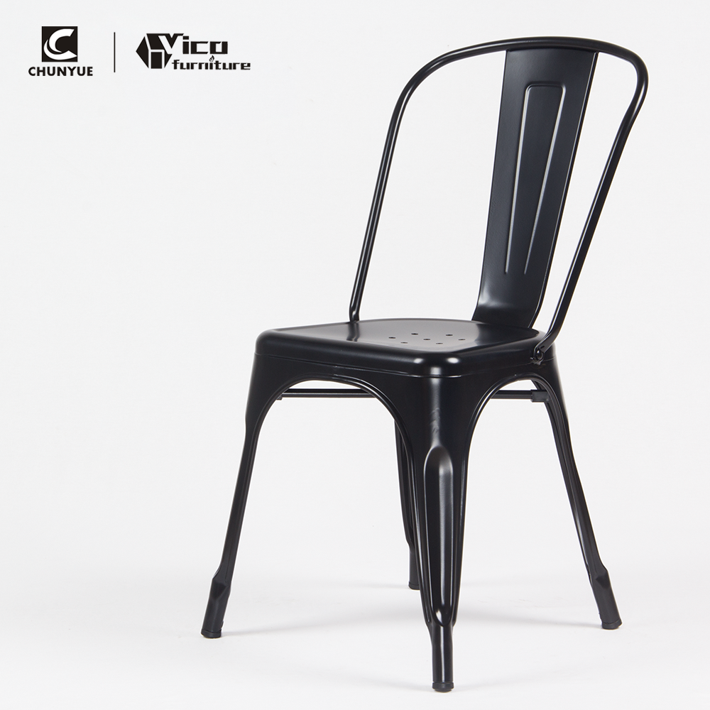modern cheap iron metal steel dining fast food canteen bistro restaurant event cafeteria table and chair for sale