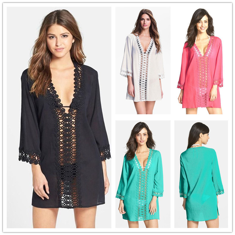 6898b170236 Get Quotations · B240 Hot selling new arrival ladies swim suit cover ups  four colors for choose beautiful swimsuit
