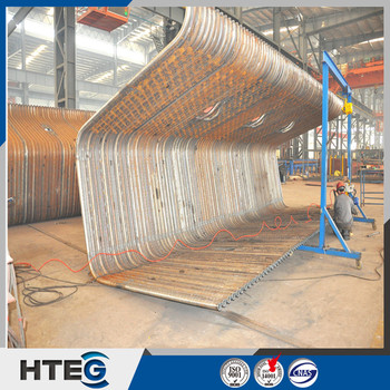 Asme Standard Carbon Steel Or Alloy Steel Membrane Water Wall Panels ...