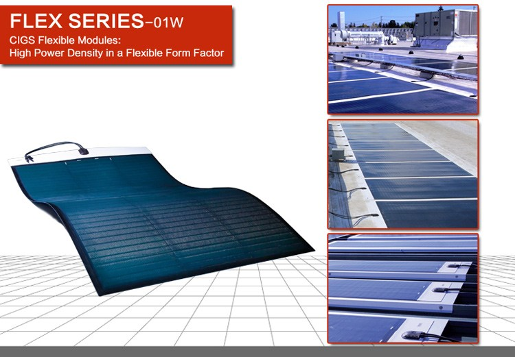 Hanergy 230w flexible CIGS portable solar panel