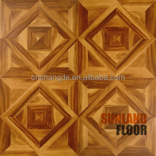 Oak Parquet Flooring PVC Wood Flooring Machine