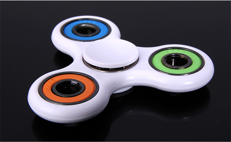 2017 Anti Stress Toys Fingertip Gyro Fidget <strong>ABS</strong> and Metal Hand Spinner