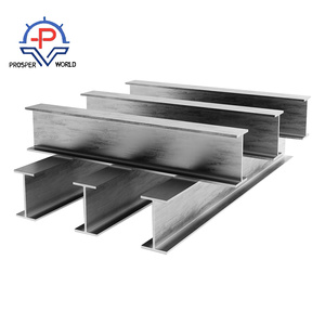 Factory Price Hot Rolled Structural Steel Profile H beams H shaped hollow section for building house ,bridge