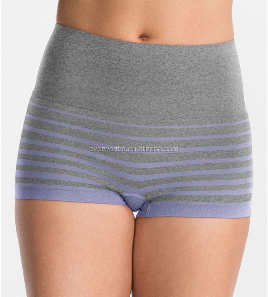 c59ad0ad8c00 Women Seamless Solid Plain Super Stretchy Boxer Briefs - Buy Women ...