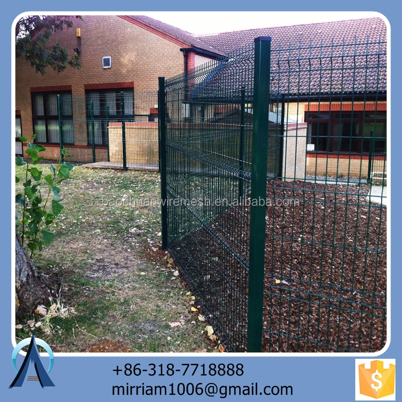 Made in China hot sale Hot dip highway fence mesh / 3d highway protection fencing / welded highway fence mesh