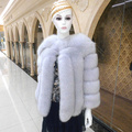 Fox fur Coat New Korean Imports Of Finland Collar Integral Skin Routine Female