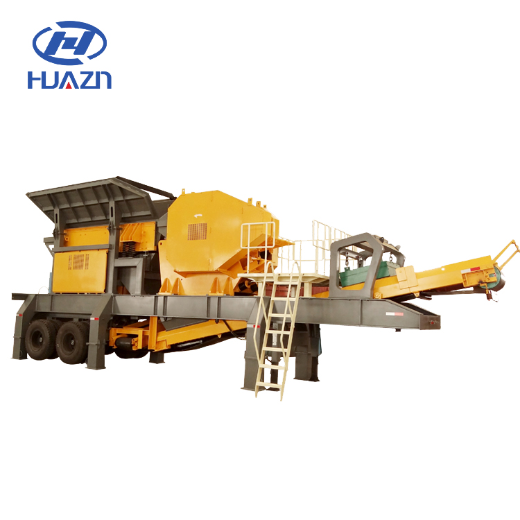 Wheel Type 300tph YD series Mobile Crushing plant mobile spare parts