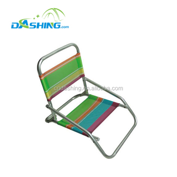 Folding Picnic Beach Lawn Chair With Low Seat