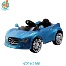 WDJH9198 Fashion 4 Wheel Electric Vehicle , Baby Ride On Car With Double Door Open And Remote Control