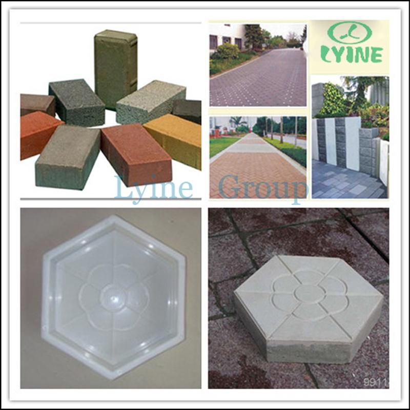 Hot Sale Plastic Moulds For Concrete Paver Block Interlock Tiles ...