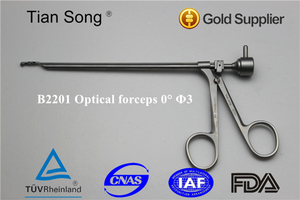 Sinus optical forceps, Nose instruments